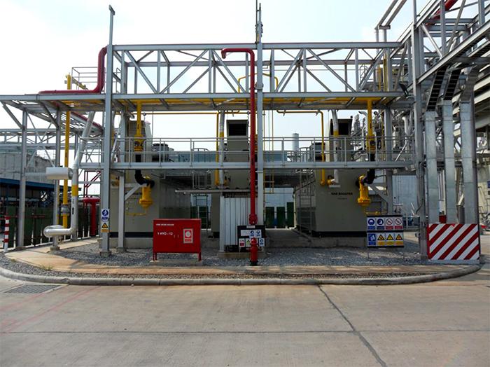 Fuel booster for gas turbine – Samapi Group SA